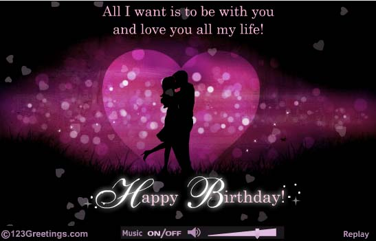 romantic birthday greeting cards for lover ; Short-And-Romantic-Birthday-Wishes
