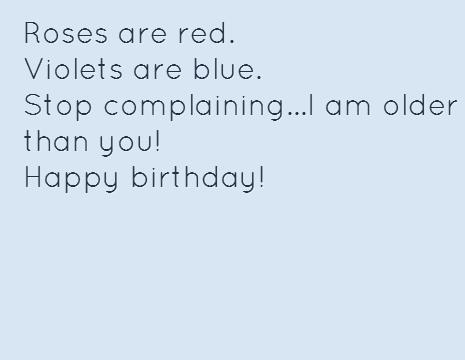 roses are red happy birthday poem ; 9be1a219671d98d945e9bcecdd5b3dca
