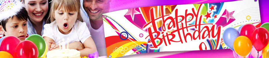 sample birthday banners designs ; birthday-banners