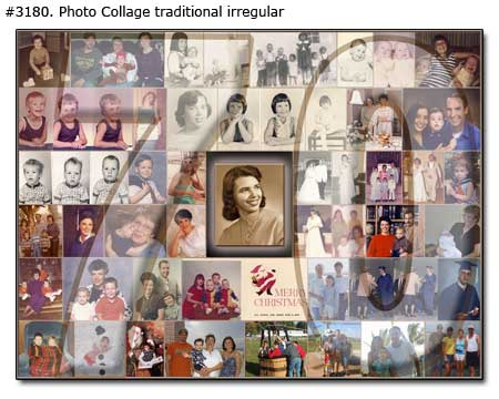 sample picture collage for birthday ; 3180_01-Birthday-Collage-Traditional