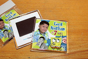 sample pictures of birthday giveaways ; 7th-birthday-giveaways-spongebob-theme-magnets-1431