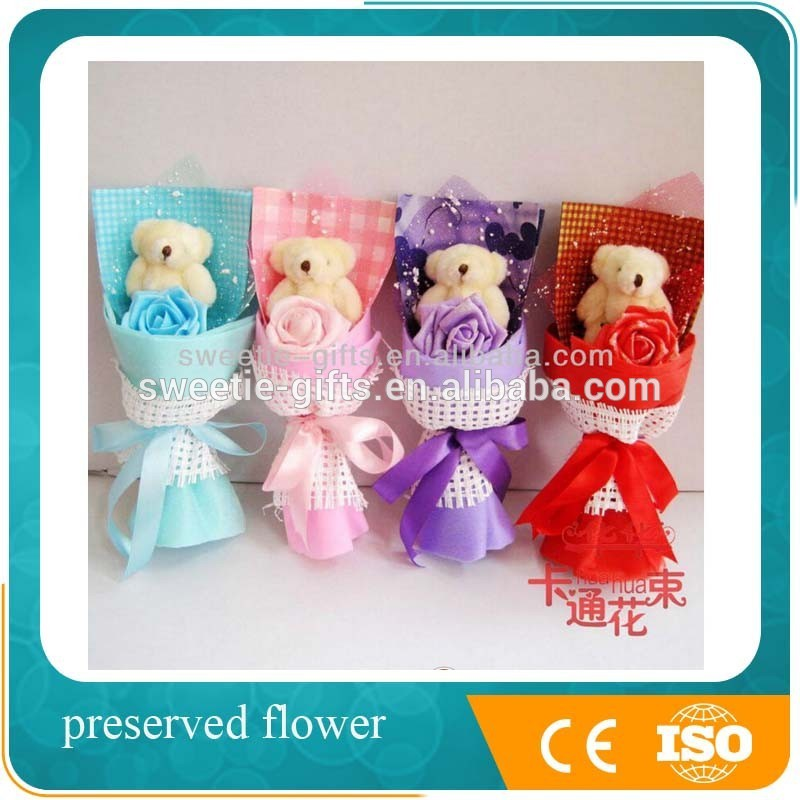 sample pictures of birthday giveaways ; Best-Promotioanl-Plush-toy-bear-bouquet-gifts