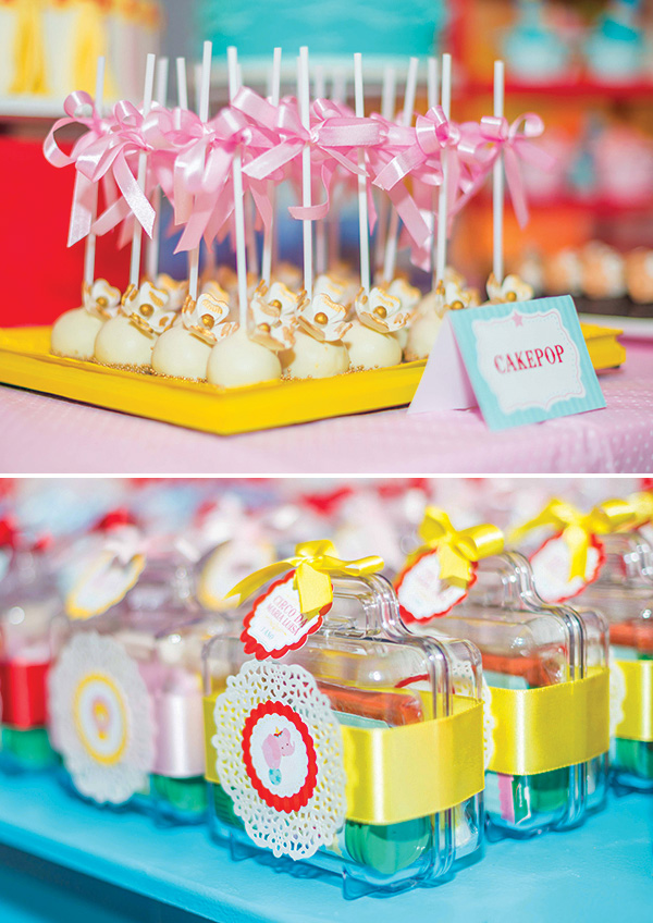 sample pictures of birthday giveaways ; combination-first-birthday-party-favors-simple-decoration-ideas-red-yellow-personalized-sample
