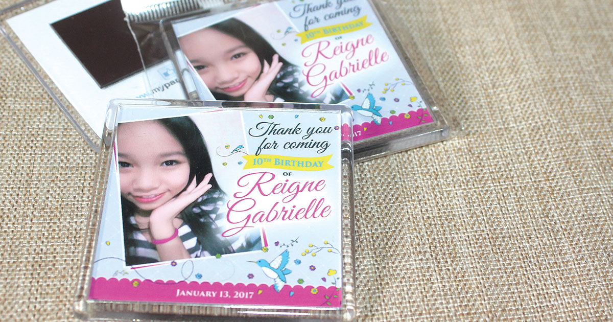 sample pictures of birthday giveaways ; reigne-gabrielle-10th-birthday-giveaways-fb