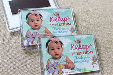 sample pictures of birthday giveaways ; winx-club-theme-on-rectangular-ref-magnets-as-1st-birthday-giveaways-souvenirs-1480