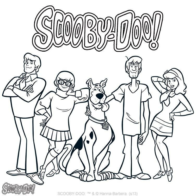 scooby doo birthday coloring pages ; 2aaa796f9301388cb85b85ee64cae73f