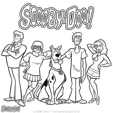 scooby doo birthday coloring pages ; scooby-doo-birthday-coloring-pages-22
