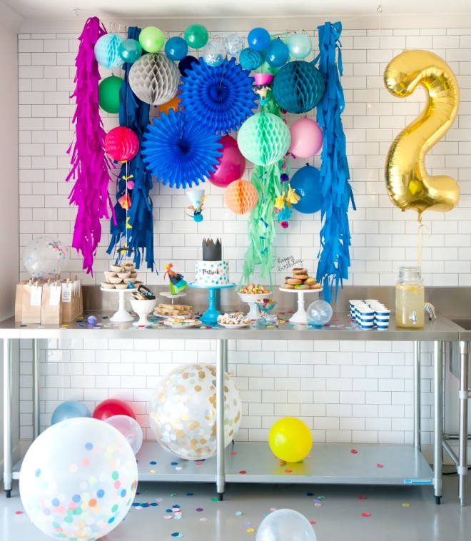 second birthday party themes ; 4-boys-colorful-birthday-party-ideas-660x758