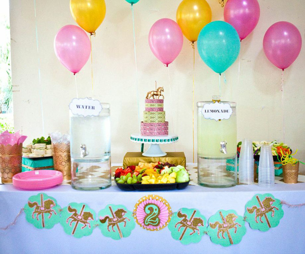 second birthday party themes ; awesome-2nd-birthday-party-ideas