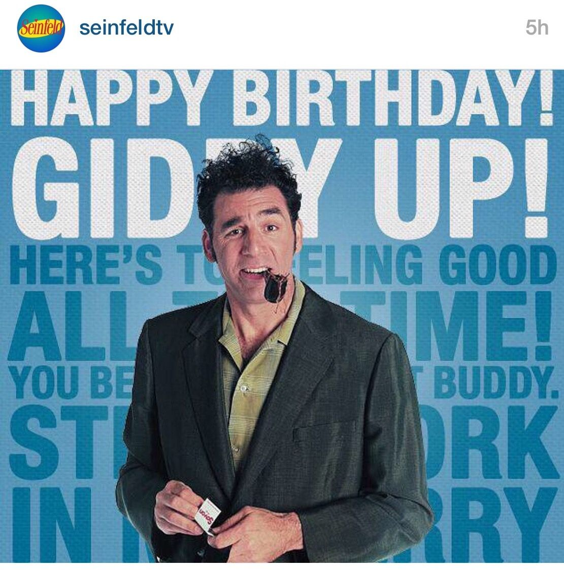 seinfeld happy birthday quote ; 808ebed71bbe4a4f3c0dbbfc37fefe4d