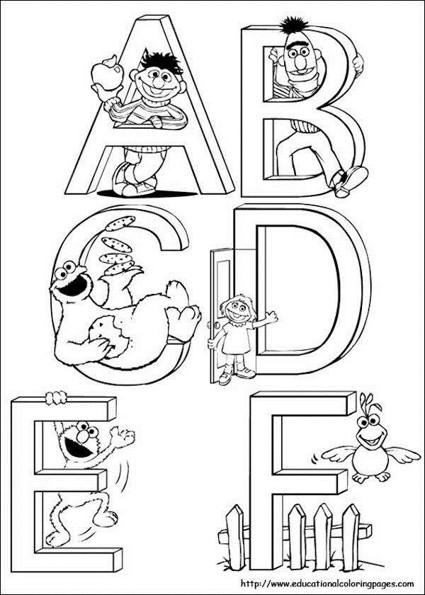 sesame street birthday coloring book ; 49d53f310ca9d7a5e6924695c82c44ed--sesame-street-party-party-printables