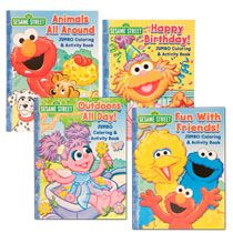 sesame street birthday coloring book ; e00f9a50bf7fe200ec4c7e09837fbf38--dollartree-com-sesame-street-birthday