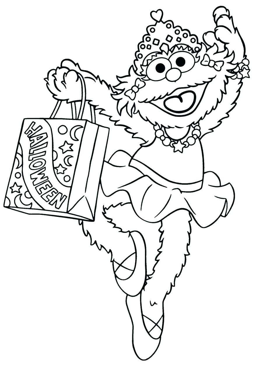 sesame street birthday coloring book ; elmo-birthday-coloring-pages-printable