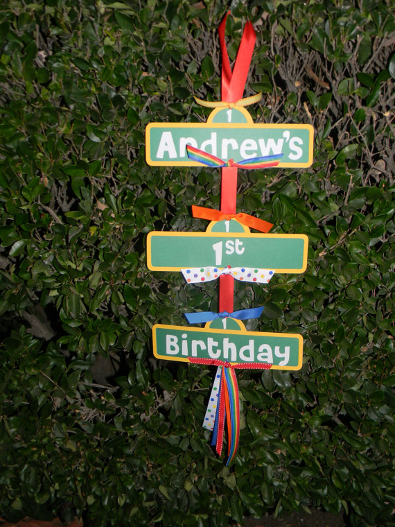 sesame street birthday door sign ; a64220fceef84a6f0eaf73ffafddc8bf