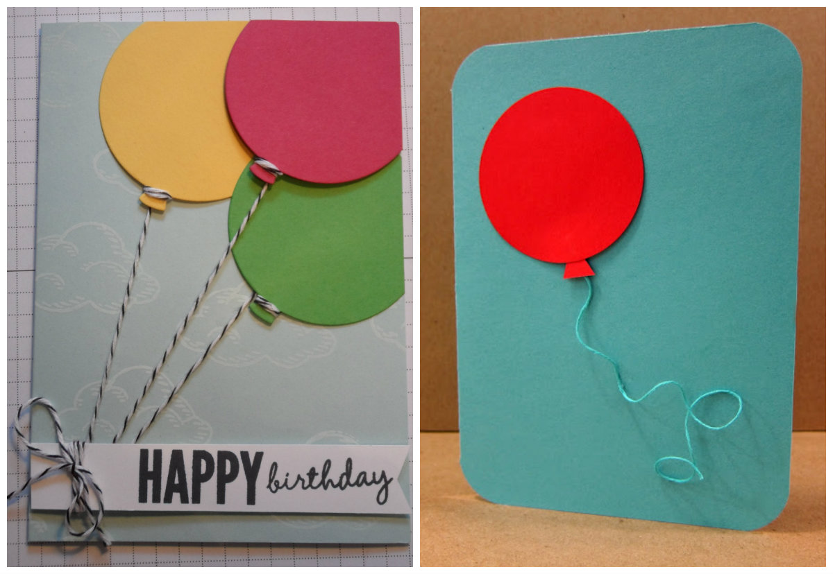 simple birthday card design ideas ; 2-balloon-card-ideas-easy-project-for-little-kids