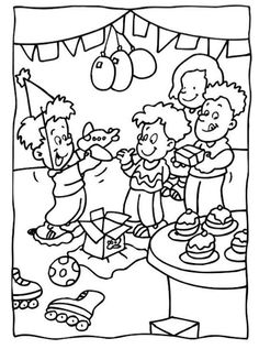 simple birthday party drawings ; b5639fb80a24af2642f6b607d72a44be--coloring-books-coloring-pages
