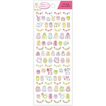 small birthday stickers ; small-neon-stickers-with-birthday-cake-present-animal-by-Q-Lia-203370-2
