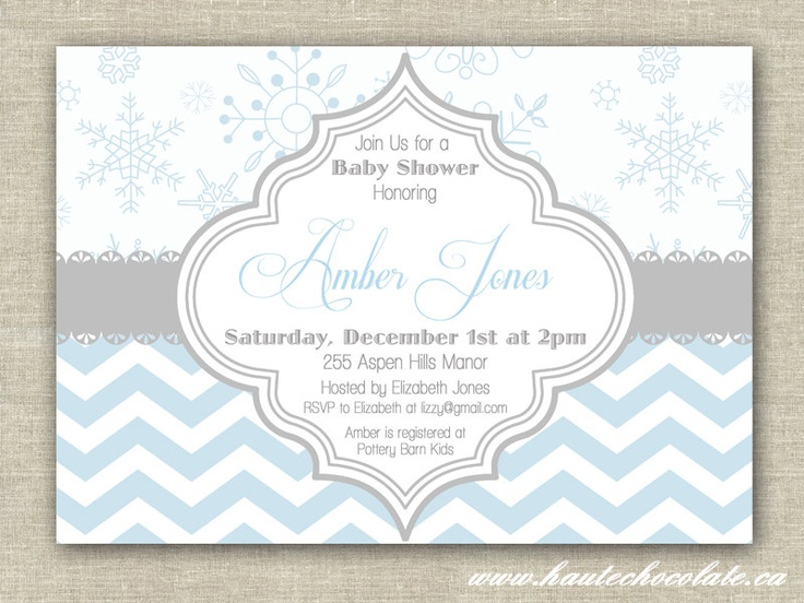 snowflake birthday invitations printable ; snowflake-baby-shower-invitations-using-an-excellent-design-idea-aimed-to-prettify-your-Baby-Shower-Invitation-Templates-13