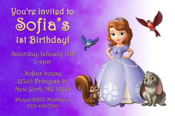 sofia the first birthday wallpaper ; sofia-the-first-online-invitations-sofia-the-first-birthday-party-invitations-gangcraft