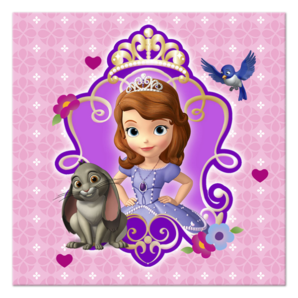 sofia the first birthday wallpaper ; sofiabev