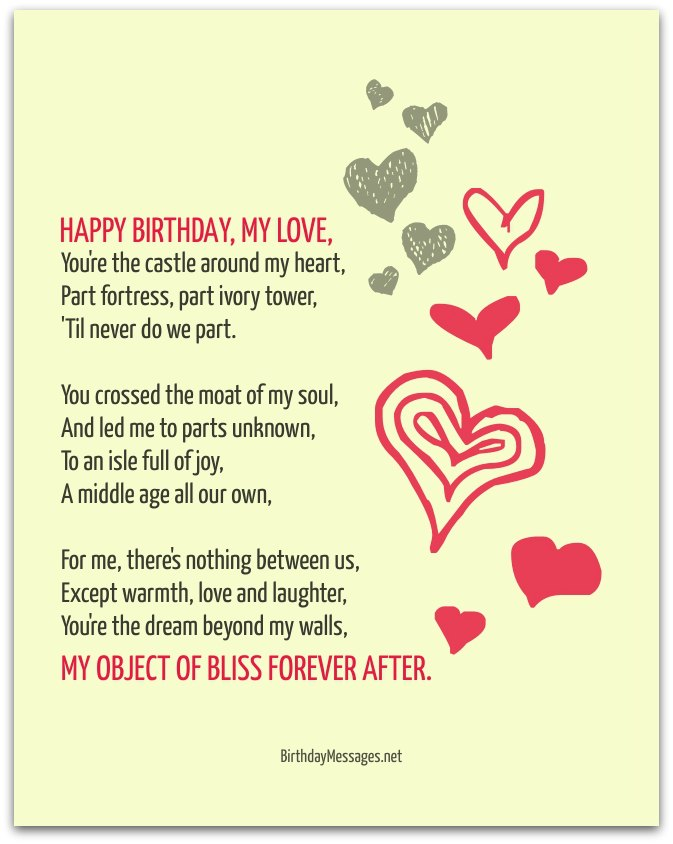 special happy birthday poems ; birthday-poems8D