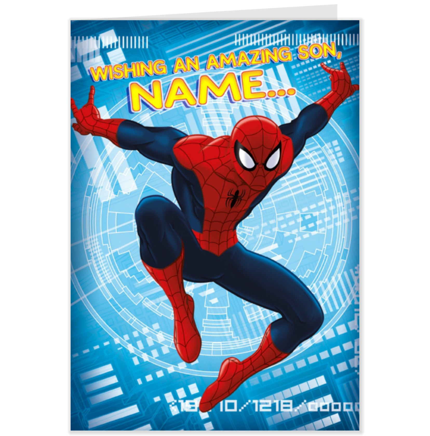 spiderman birthday poster ; superman-birthday-card-template-awesome-birthday-card-colorful-and-interesting-design-spiderman-birthday-of-superman-birthday-card-template