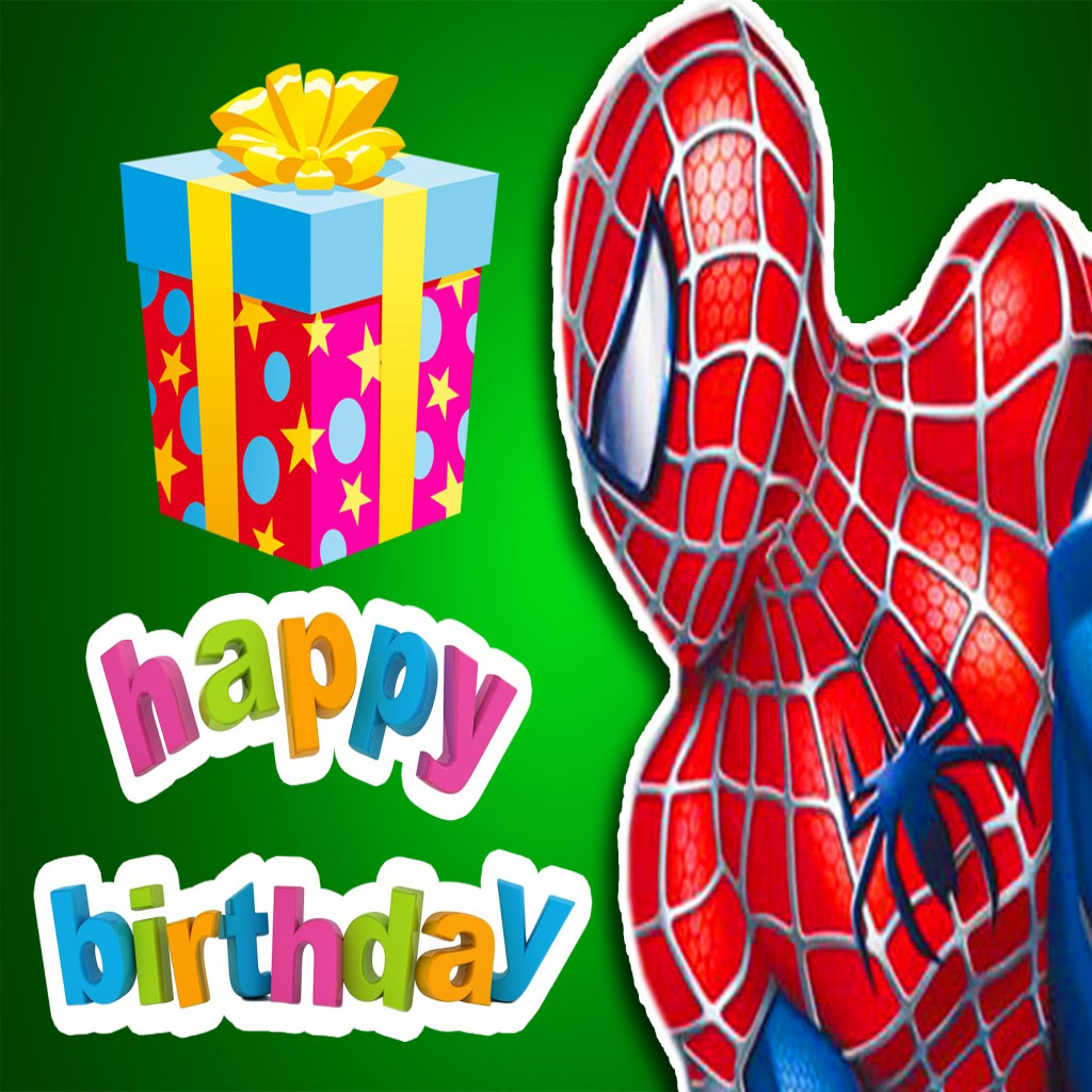 spiderman birthday wallpaper ; elegant-happy-birthday-spider-man-song-children-simple-songs-nursery-of-spiderman-happy-birthday-images