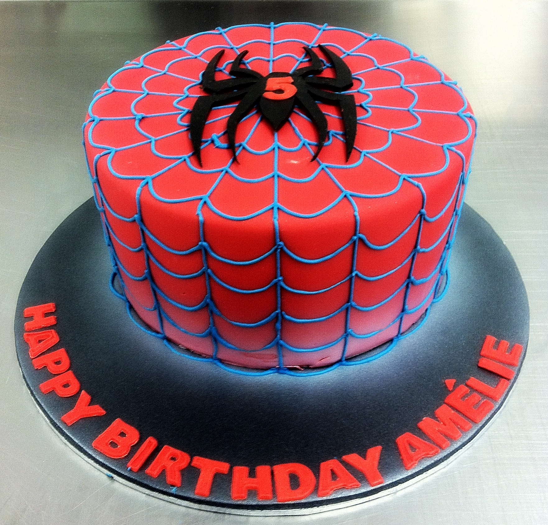 spiderman birthday wallpaper ; spider-man-birthday-cake