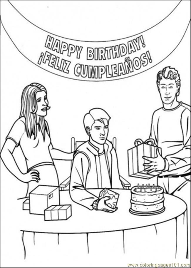 spiderman happy birthday coloring pages ; 14108-happy-birthday-peter-parker
