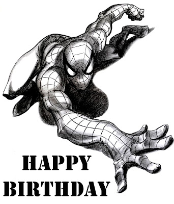 spiderman happy birthday coloring pages ; SPIDERMAN+COLORING+PAGE+(9)