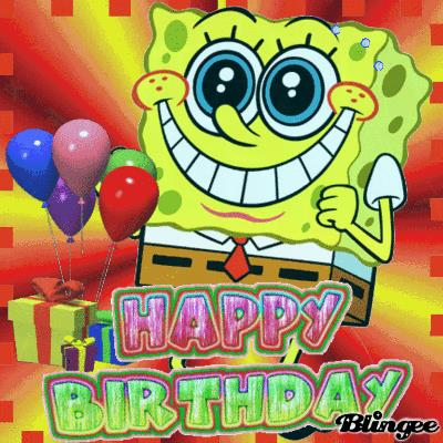 spongebob happy birthday ; 24041poster