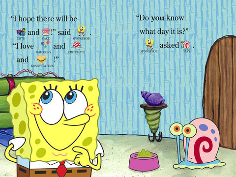 spongebob happy birthday ; 480x360bb