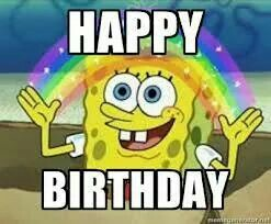 spongebob happy birthday ; 6af3e600159055ffab09fd7a1885cd2e