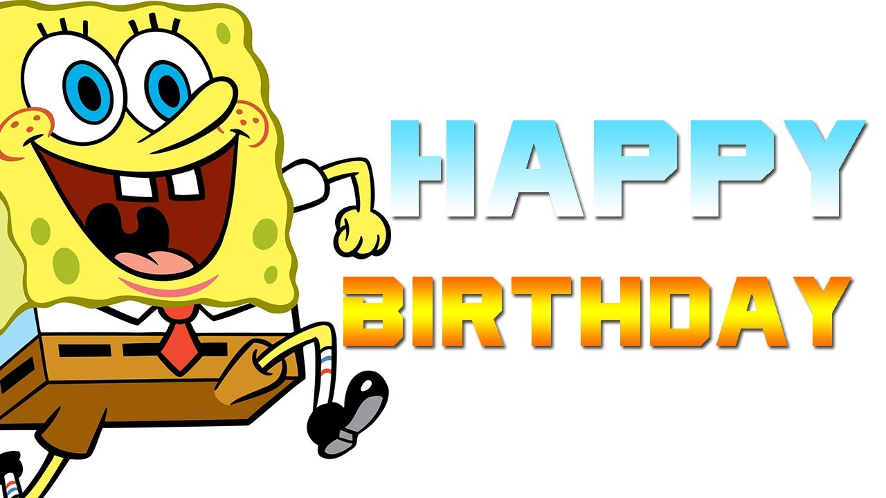 spongebob happy birthday ; maxresdefault