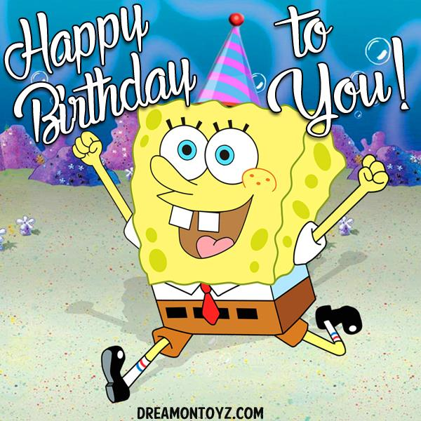 spongebob happy birthday ; sbsp-hbty