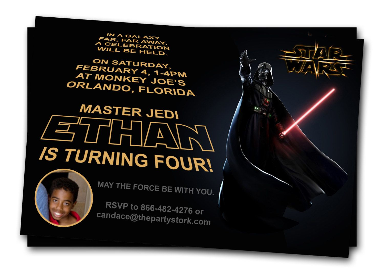 star wars birthday party invitations printable ; 0655f027afded9a2d9e877e0376b4043