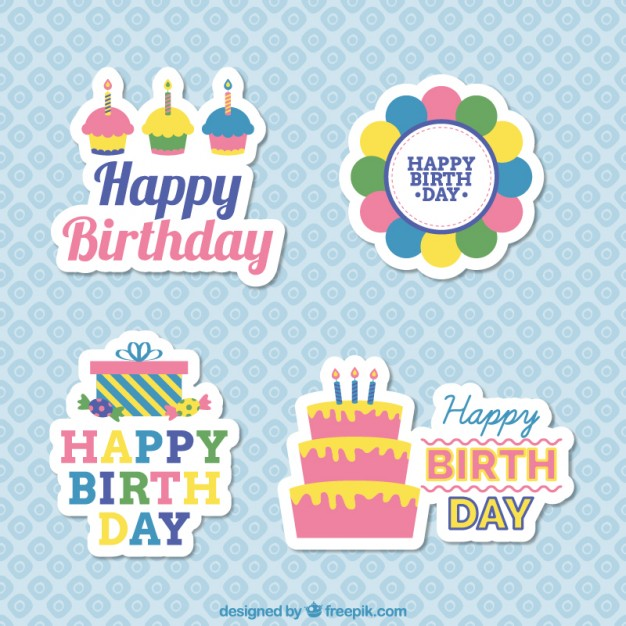 sticker happy birthday free ; birthday-stickers_23-2147510029
