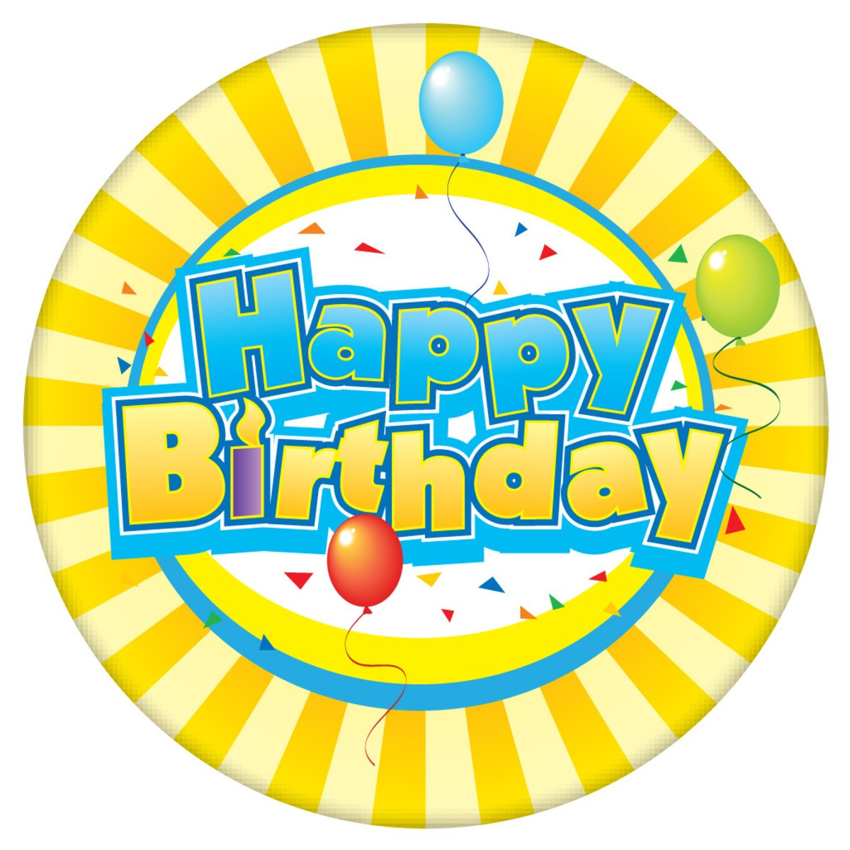 stickers de happy birthday ; 7108