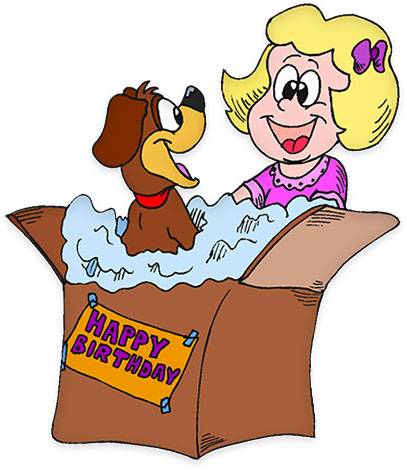 surprise birthday clipart ; 1387719
