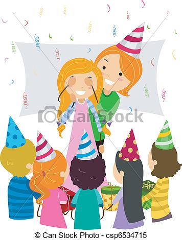 surprise birthday clipart ; birthday-surprise-clipart-vector_csp6534715