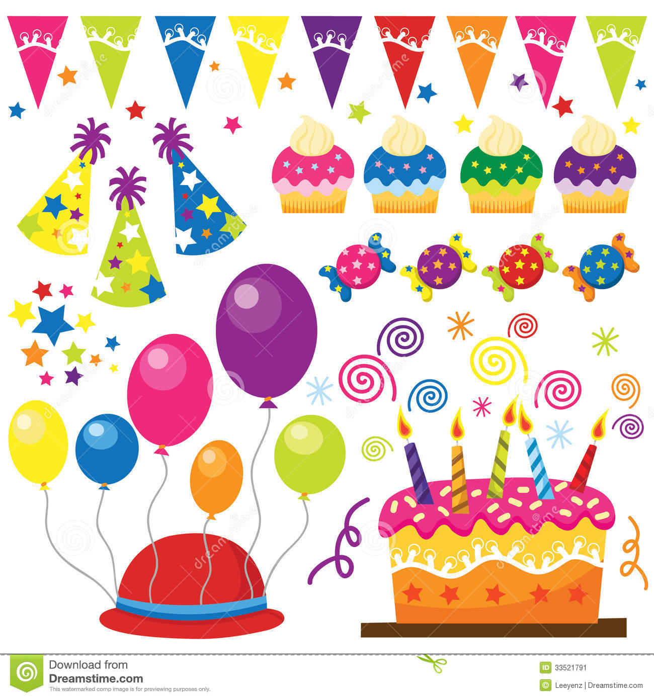 surprise birthday clipart ; surprise-birthday-party-vector-illustration-33521791