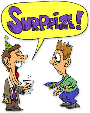 surprise birthday clipart ; surprise-party
