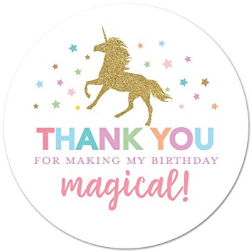 thank you stickers for birthday ; 61r3BtkE5mL