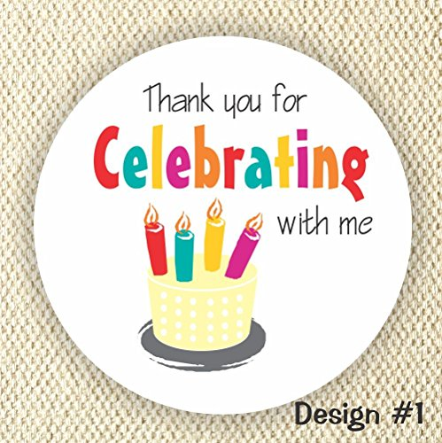 thank you stickers for birthday ; 71fjvu4ScUL