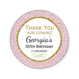 thank you stickers for birthday ; birthday_stickers_pink_gold_thank_you_favor_tags-rba6ba872f2ee40029687792a356af145_v9waf_8byvr_260