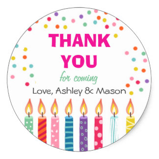 thank you stickers for birthday ; candles_birthday_thank_you_sticker_cupcake_topper-rb29384a49d7c4cca859ee8aad9a4a06e_v9wth_8byvr_324