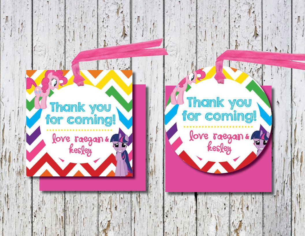 thank you tags for birthday favors ; 0fe1cbd5d731d964e91bc33f8808e16e