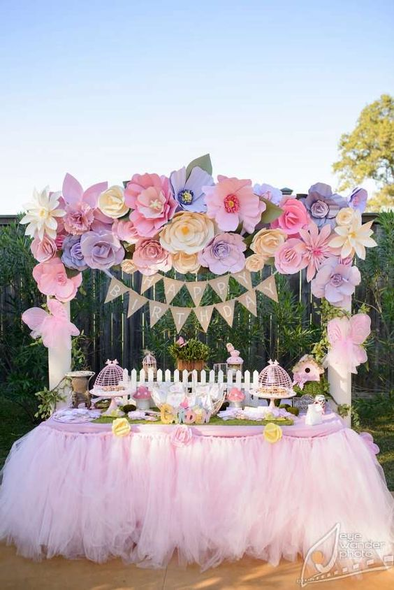 themed birthday party ideas for baby girl ; 861450b1c6c8274140f3e4a9d393b968--garden-birthday-parties-first-birthday-parties
