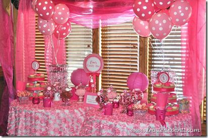 themed birthday party ideas for baby girl ; 916a45f443f2946496b0b396808606b5--pink-dot-pink-polka-dots