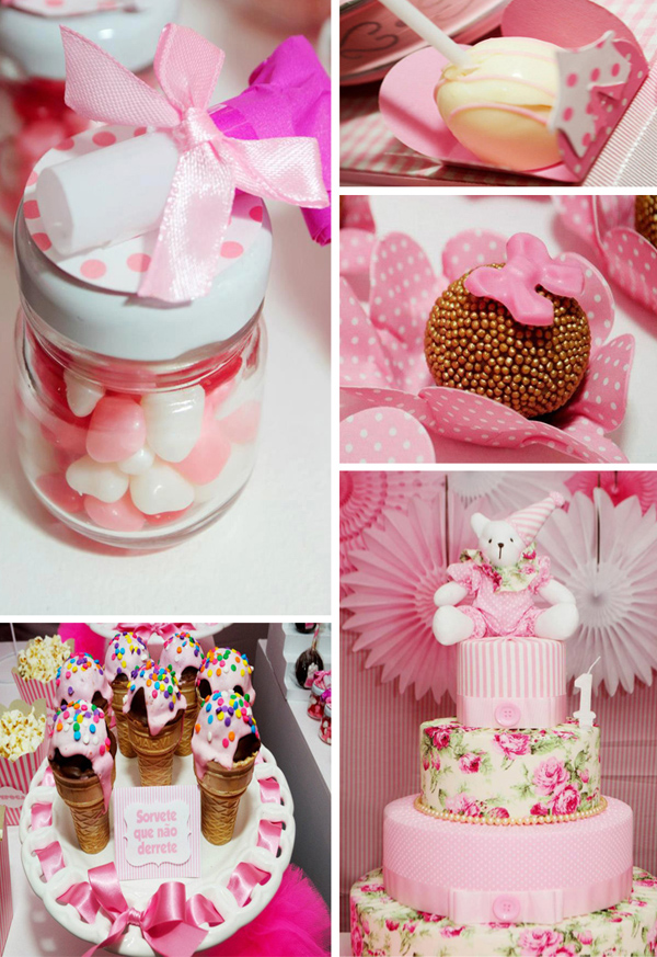 themed birthday party ideas for baby girl ; Circus-Bear-Birthday-Party-With-Lots-of-Ideas